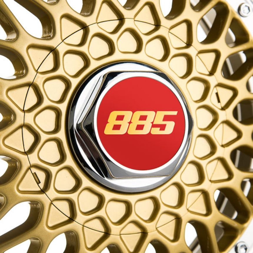 Classic RS Gold 7.5x17